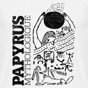 Papyrus Mythologique (black) - Männer T-Shirt