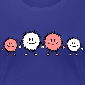 monster_family T-Shirts - Frauen Premium T-Shirt