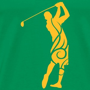 Golf tribal T-shirt - Men's Premium T-Shirt