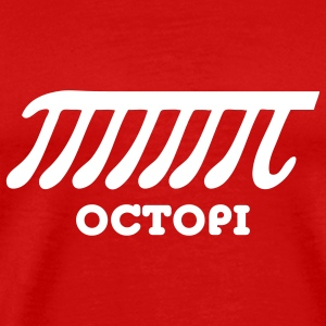 Octopi (PI) T-Shirts - Men's Premium T-Shirt