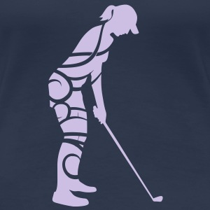 Golf tribal T-shirt - Women's Premium T-Shirt