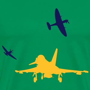 Eurofighter & Supermarine Spitfire's - Men's Premium T-Shirt