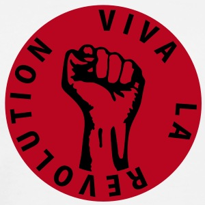 2 colors - Viva la Revolution - Working Class Unity Against Capitalism T-shirts - Premium-T-shirt herr