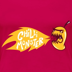 Chilli Monster - Women's Premium T-Shirt