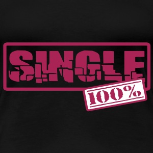 Single Women's Plus Size Shirt - Women's Premium T-Shirt