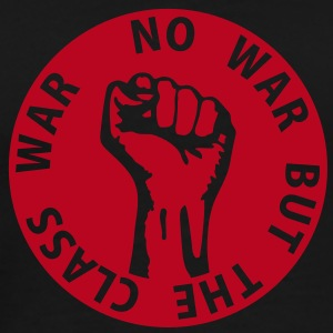 1 color - no war but the class war - against capitalism working class war revolution T-shirts - Mannen Premium T-shirt
