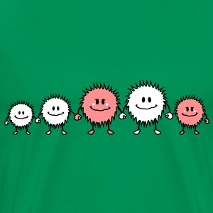 happy_monster_family T-Shirts - Männer Premium T-Shirt