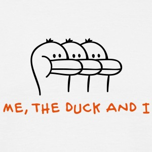 Me, the Duck and I T-skjorter - T-skjorte for menn