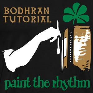paint the rhythm - Men's Premium T-Shirt