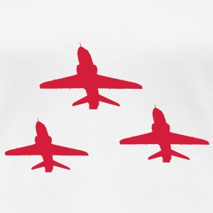 Red Arrows Triple Formation for Ladies - Women's Premium T-Shirt