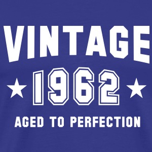 VINTAGE 1962 T-Shirt - Aged To Perfection WB - Koszulka męska Premium