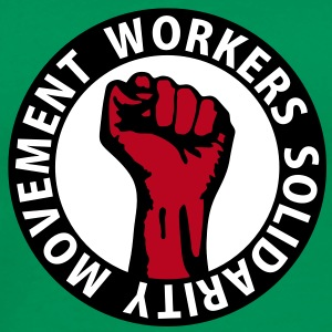 3 colors - Workers Solidarity Movement - Working Class Unity Against Capitalism T-shirts - Premium-T-shirt herr