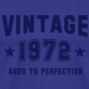 VINTAGE 1972 T-Shirt - Aged To Perfection NS - Männer Premium T-Shirt