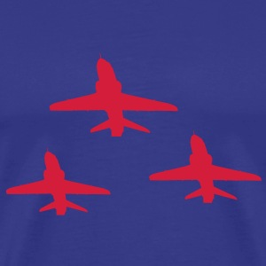Red Arrows Triple Formation - Men's Premium T-Shirt