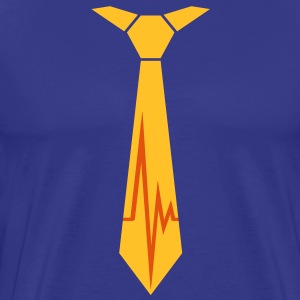 pulse_tie T-Shirts - Men's Premium T-Shirt