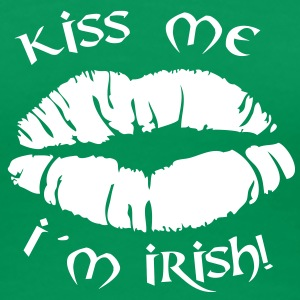 kiss me i´m irish T-Shirts - Frauen Premium T-Shirt