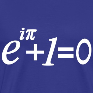 e i pi equation T-Shirts - Men's Premium T-Shirt