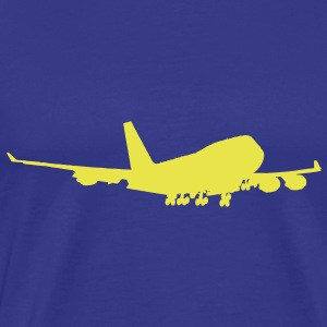 Boeing 747 Jumbo Airliner - Men's Premium T-Shirt