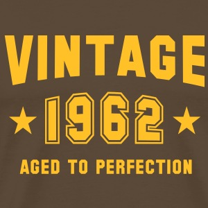 VINTAGE 1962 T-Shirt - Aged To Perfection YB - Koszulka męska Premium