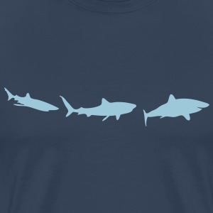 animation shark requin2 Tee shirts - T-shirt Premium Homme