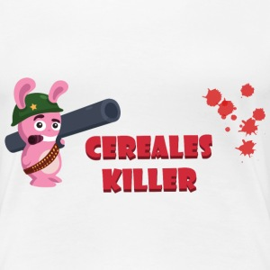 ct2c_lapin_bazooka_cereales_killer Tee shirts - T-shirt Premium Femme