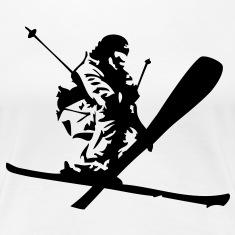 suchbegriff skifahrer snowboarder t shirts spreadshirt. Black Bedroom Furniture Sets. Home Design Ideas