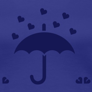 It's raining hearts solo T-shirts - Premium-T-shirt dam