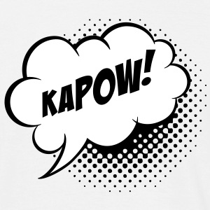 Speech balloon Kapow! T-Shirts - Men's T-Shirt