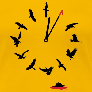 Doomsday Bird Clock T-shirts - Vrouwen Premium T-shirt