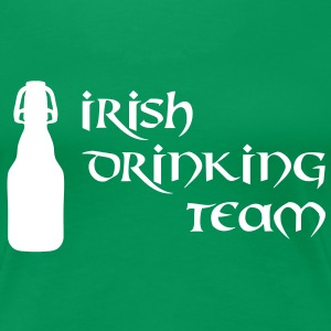 irish drinking team T-Shirts - Frauen Premium T-Shirt