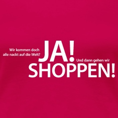 ja shoppen T-Shirts