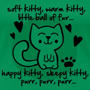 soft kitty, warm kitty, little ball of fur... T-shirts - Premium-T-shirt dam