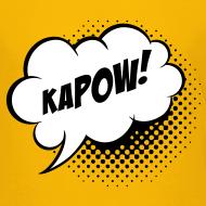 Design ~ Speech balloon Kapow! Kinder shirts