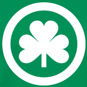 irish shamrock icon  T-Shirts - Männer Premium T-Shirt