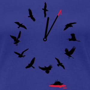 Doomsday Bird Clock T-Shirts - Frauen Premium T-Shirt