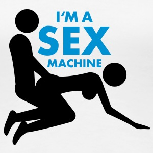 sex_machine T-shirts - Premium-T-shirt dam
