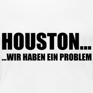 houston__wir_haben_ein_problem T-Shirts - Frauen Premium T-Shirt
