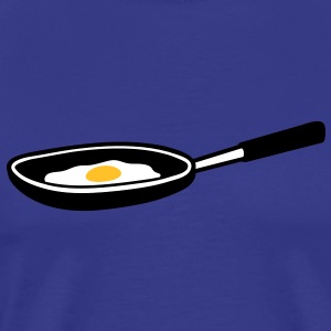 egg_in_pan T-skjorter - Premium T-skjorte for menn