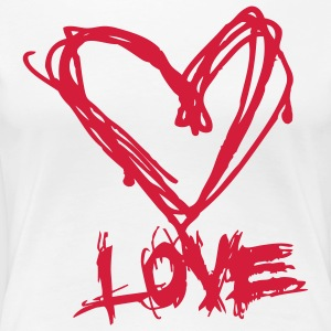 Love like blood T-shirts - Vrouwen Premium T-shirt