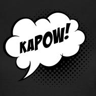 Design ~ Speech balloon Kapow! T-shirts