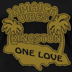 jamaica vibes kingston T-Shirts - Women's Premium T-Shirt
