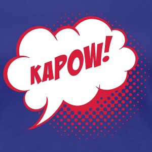 Speech balloon Kapow! T-shirt - Maglietta Premium da donna