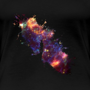 Sky painter supernova space star 04 T-Shirts - Women's Premium T-Shirt