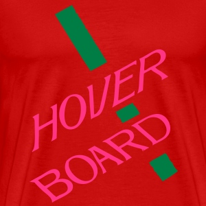 Back to The Future II Hover Board - Men's Premium T-Shirt