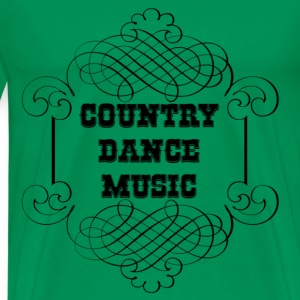 country dance music T-shirts - Premium-T-shirt herr