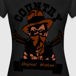 country original western T-shirts - Dame-T-shirt