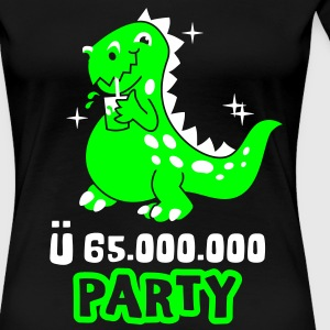 Dino-Party T-Shirts - Frauen Premium T-Shirt