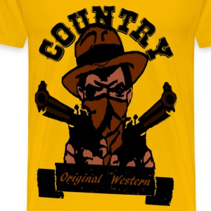 country original western T-Shirts - Men's Premium T-Shirt
