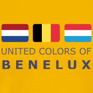 Classic T-Shirt UNITED COLORS OF BENELUX dark-lett - Maglietta Premium da uomo