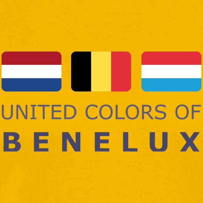 Classic T-Shirt UNITED COLORS OF BENELUX dark-lettered